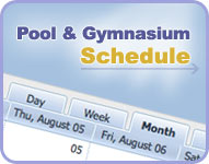 Pool and Gymnasium Schedule